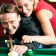 Couple (man and woman) in a — Stock Photo