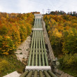 Pumped storage hydropower plant - Stock Photo