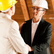 Royalty-Free Stock Photo: Architect and construction