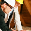 Architect and construction - Stock Photo