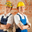 Two construction workers — Stock Photo #5023597