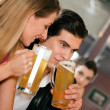 Group of in a bar or — Stock Photo #5023786
