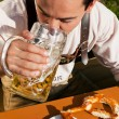 Stock Photo: Man in traditional Bavarian