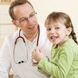 Doctor - Pediatrician - with a - Stock Photo