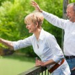 Mature or senior couple deeply — Stock Photo #5023954