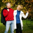Mature couple deeply in love — Stock Photo #5024013