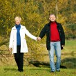 Mature couple deeply in love — Stock Photo
