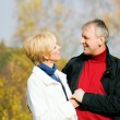Mature couple deeply in love — Stock Photo #5024020