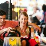 couple en allemand traditionnel ou — Photo