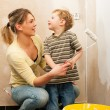Family - mother with son — Stock Photo