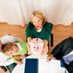 Family Business - telecommuter — Stock Photo