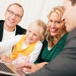 Family Business - telecommuter — Stock Photo #5024807