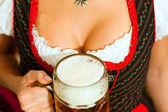 In Bavarian Tracht — Stock Photo