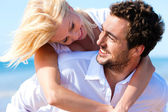 Couple in love - Caucasian man — Stock Photo