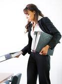 Mujer que trabaja — Foto de Stock