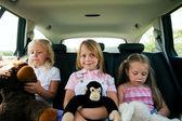 Family with three kids — Stock Photo