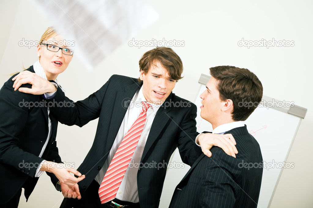 Having a quarrel — Stock Photo #5023100