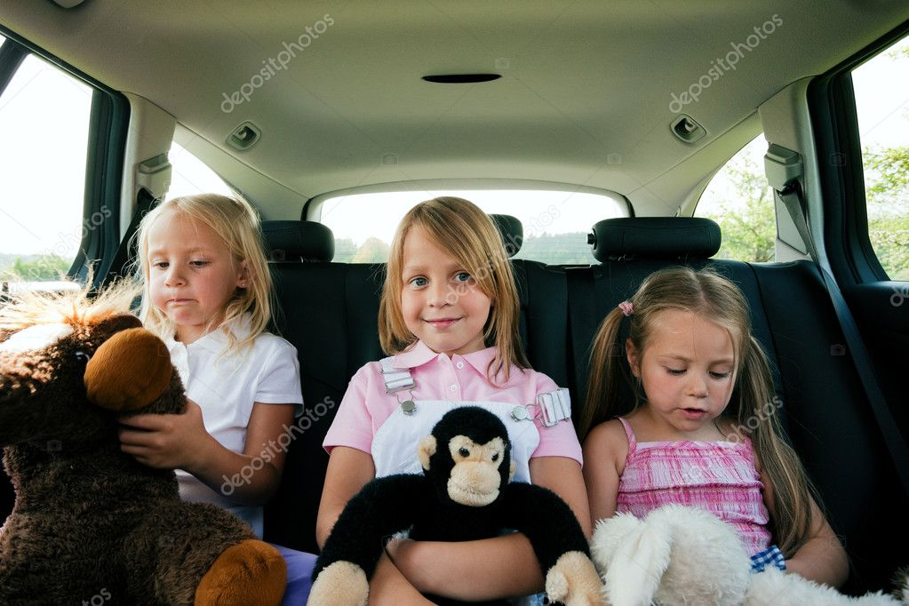 In a car — Stock Photo #5024323