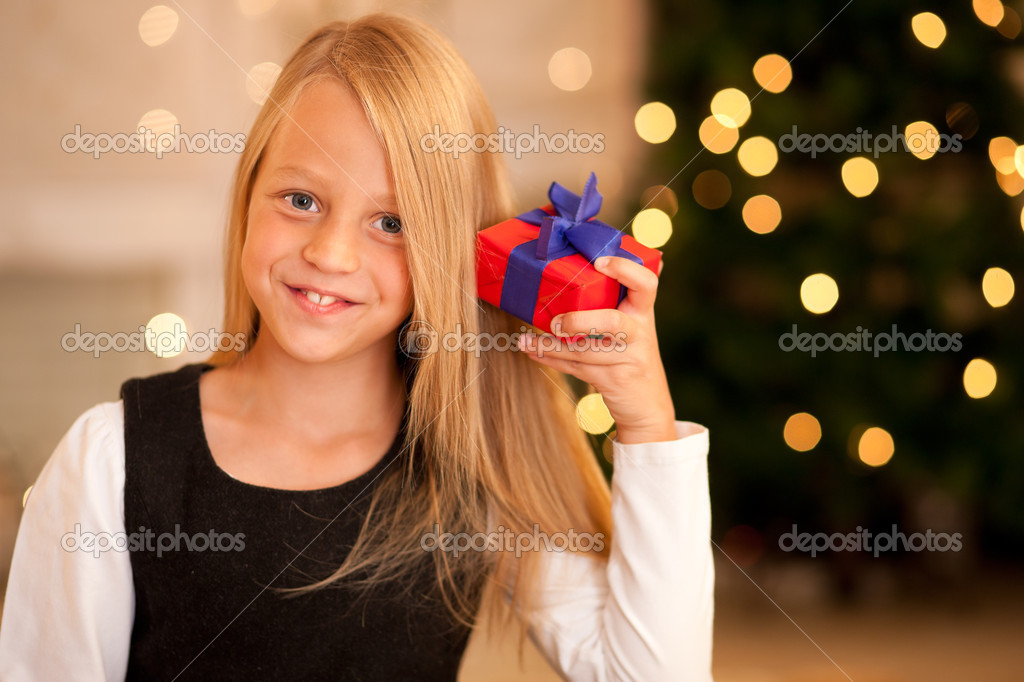 With presents   Stock Photo #5024642