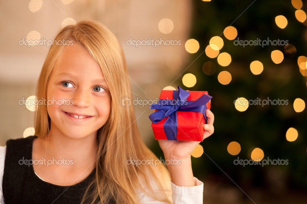 With presents  — Stock Photo #5024644