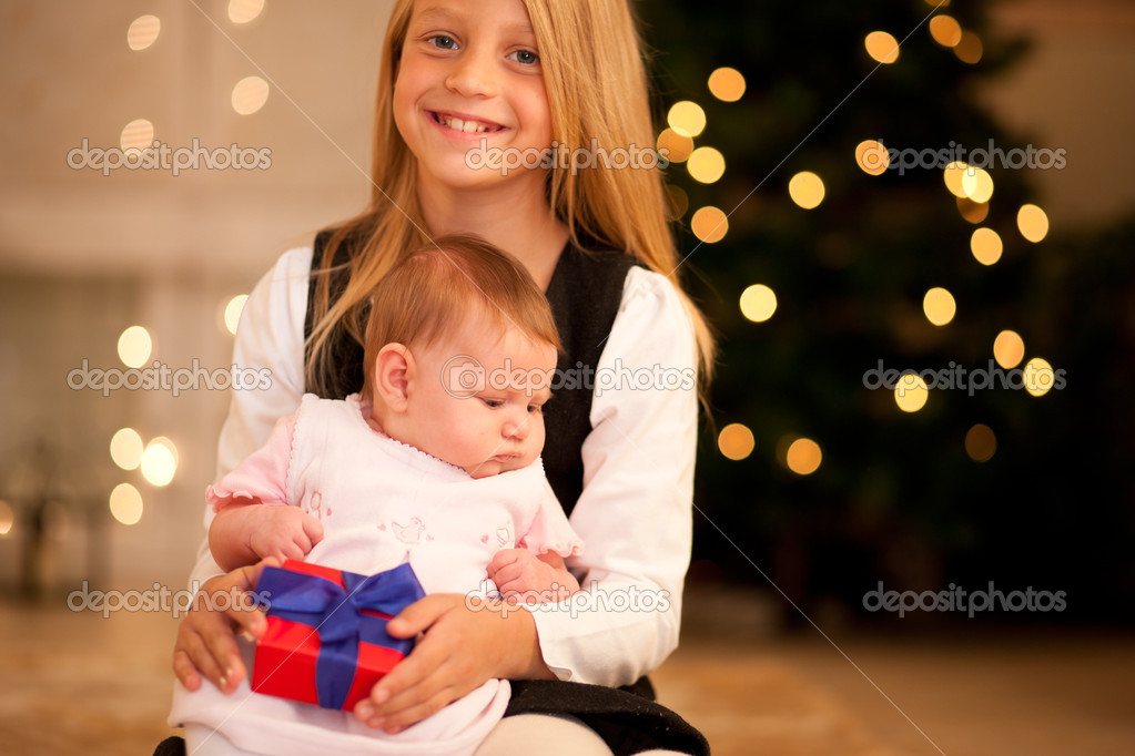 With presents  — Stock Photo #5024655