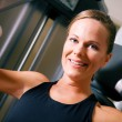 Beautiful girl having a workout — Stock Photo #5050674