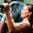 Stock Photo: Woman doing fitness training