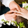 Couple - he is proposing - Stock Photo
