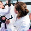 In a gym in martial arts — Stock Photo #5052122