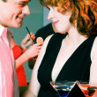 Couple flirting — Stock Photo #5052187