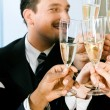 Royalty-Free Stock Photo: Businesspeople celebrating