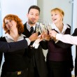 Businesspeople celebrating — Stock Photo #5052208