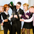 Businesspeople celebrating — Stock Photo #5052210