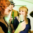 Having a karaoke party — Stock Photo #5052243
