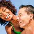 Couple in love - Woman of color — Stock Photo