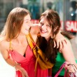 Two women being friends — Stock Photo #5052620