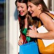 Two women being friends — Stock Photo #5052629