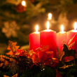 Christmas candles - Foto de Stock