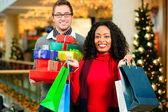 Couple - Caucasian man and — Stock Photo
