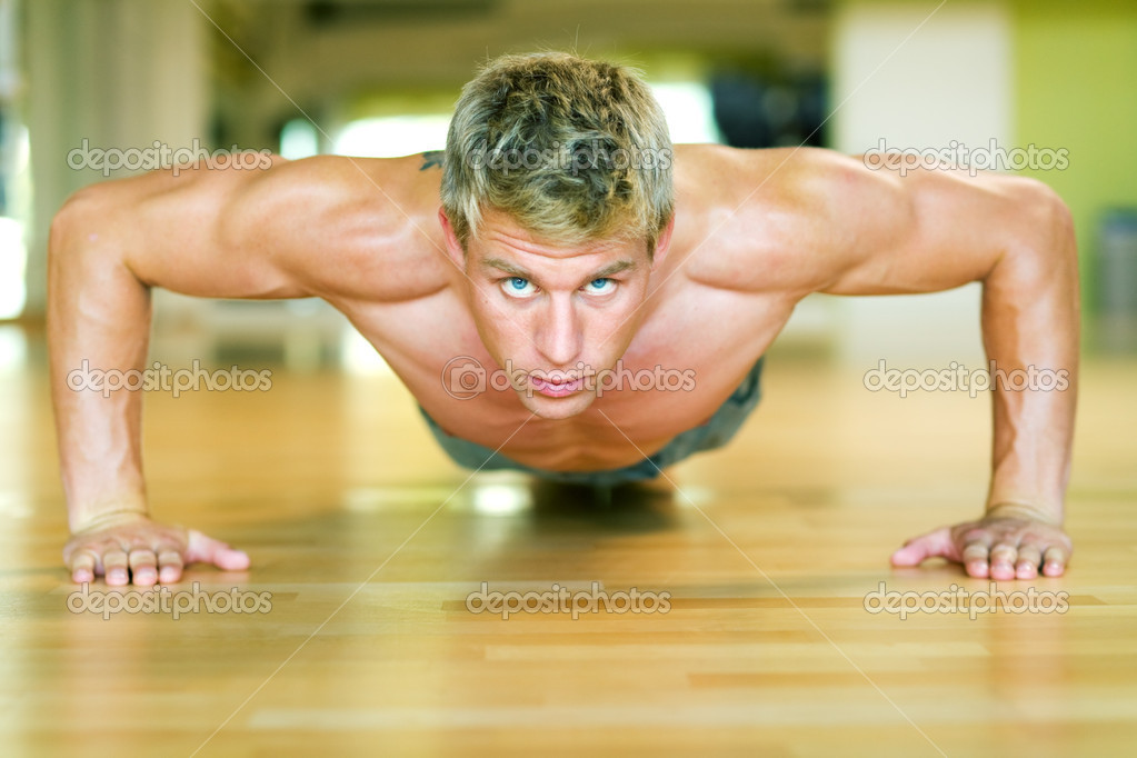 Push-ups  — Stock Photo #5050736
