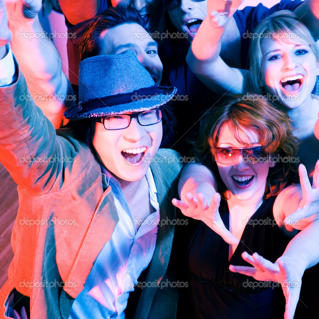 In a club or disco — Stock Photo #5052172