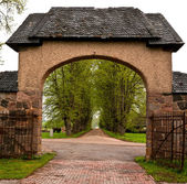 Ancient Gate — Stock Photo