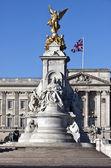 Queen Victoria memorial — Stock Photo