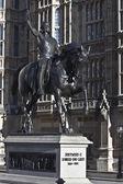 King Richard 1 monument — Stock Photo