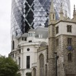 Stock Photo: 'Swiss Re Building Gherkin''