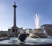 Trafalgar Square in London — Stock Photo