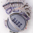 British pounds — Stock Photo #5016463