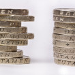 Stock Photo: British pounds