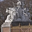 Prince Albert memorial — Stock Photo