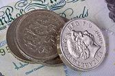 British pounds — Stock Photo